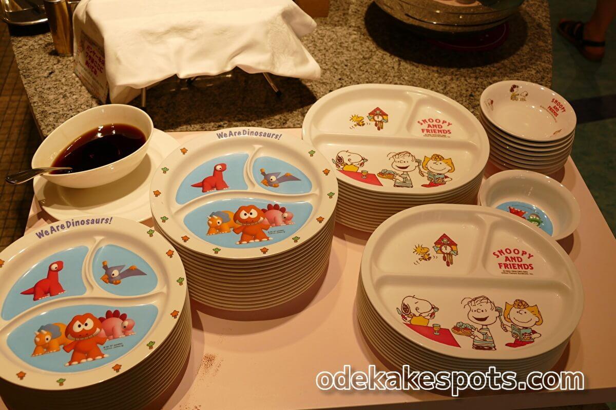 ホテルユニバーサルポート 幼児 皿