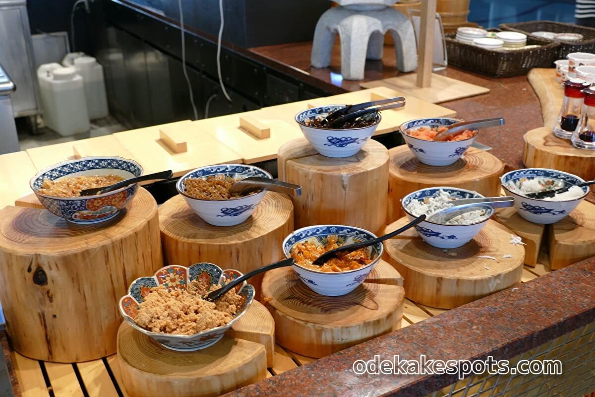 ホテルユニバーサルポート 朝食バイキング 和食