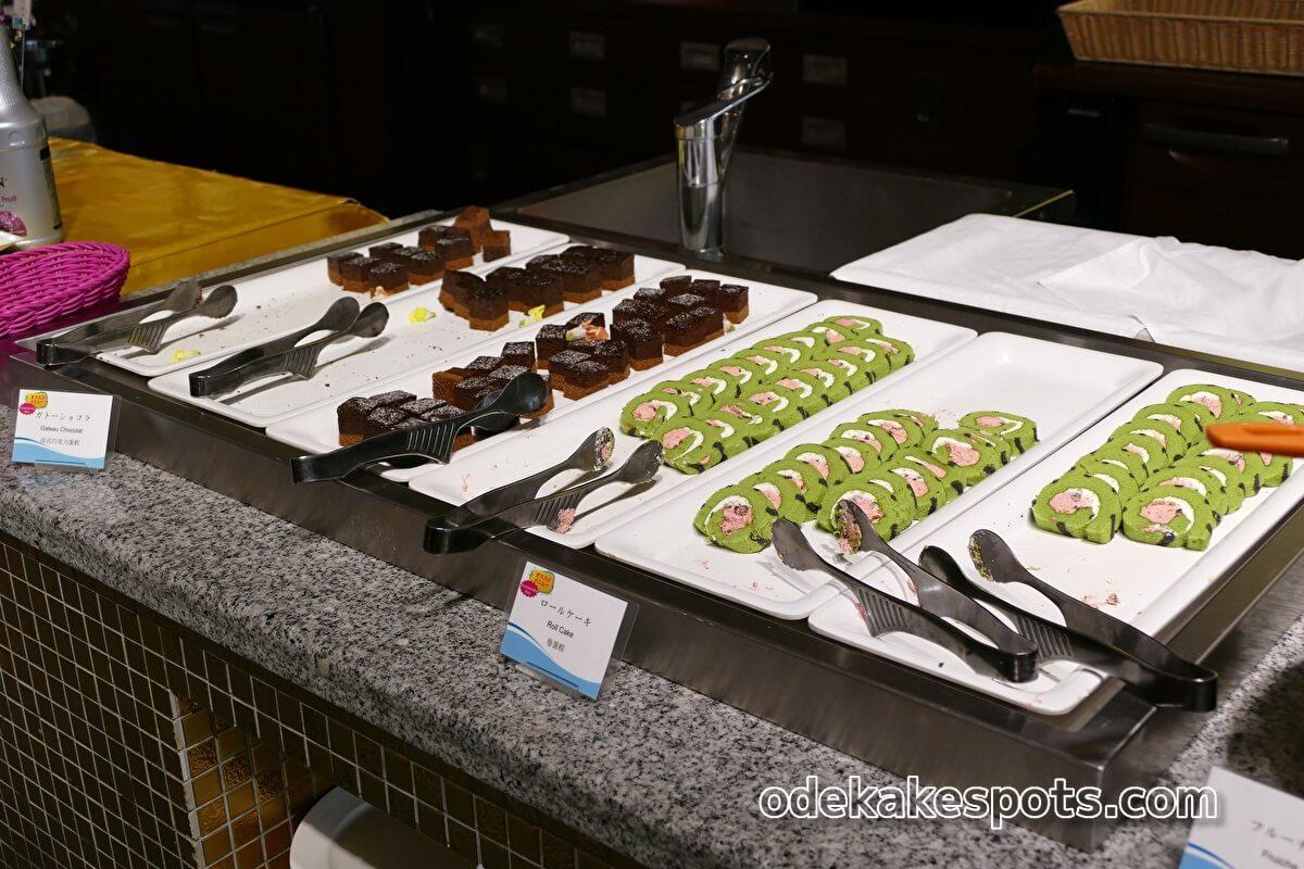 ホテルユニバーサルポート 朝食バイキング デザート