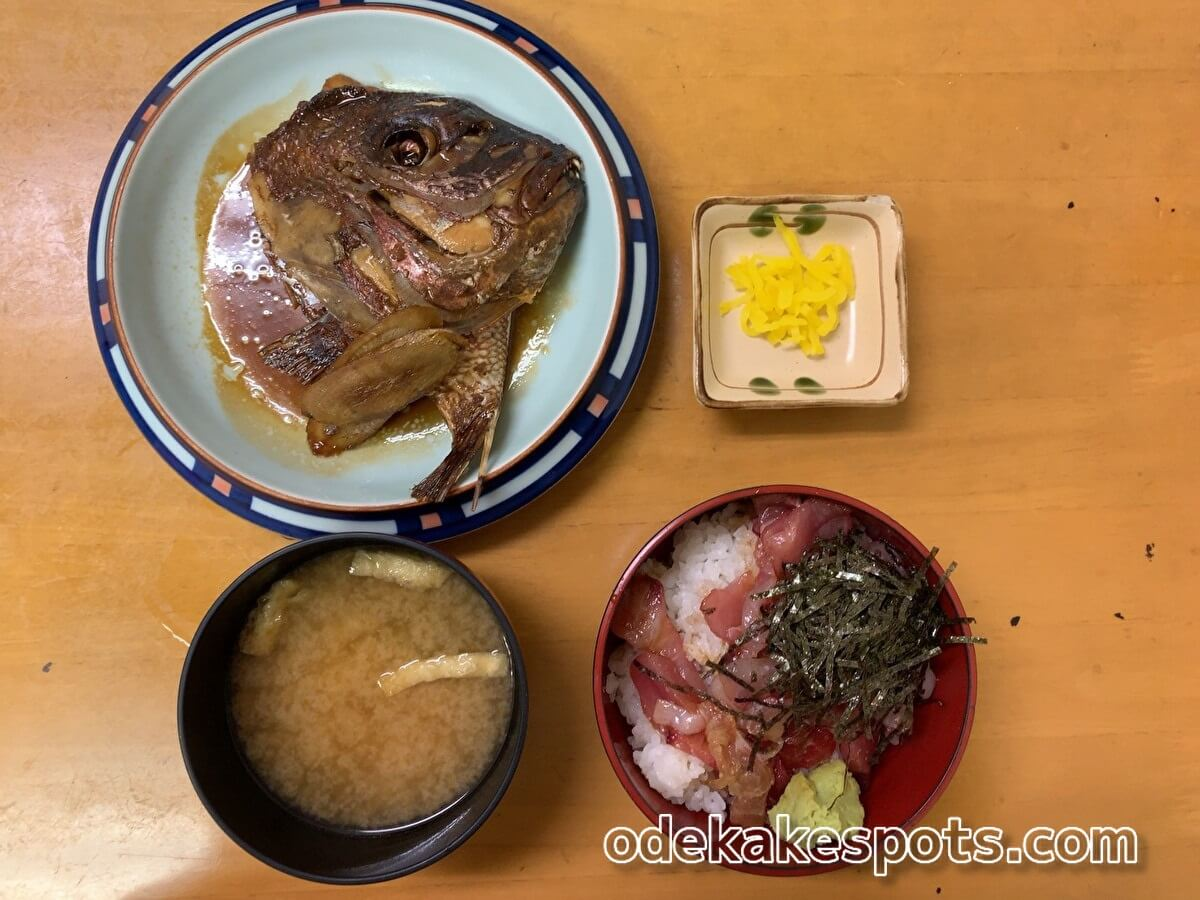 柳橋連合市場 柳橋食堂 海鮮丼