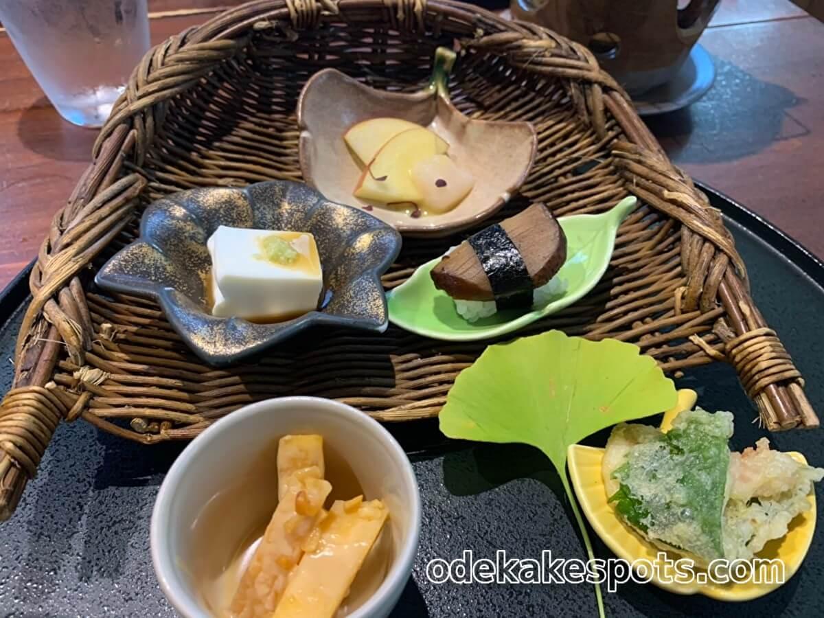 太宰府市の和食ビストロ橙橙コースメニュー