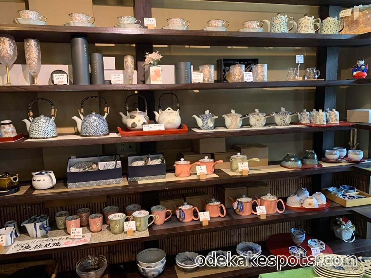 太宰府市の和食ビストロ橙橙の陶器