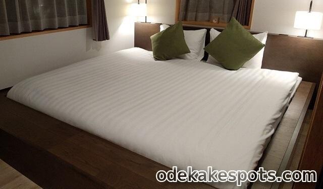 インギャーコーラルヴィレッジ ベッド 部屋 シギラ 宮古島 ホテル