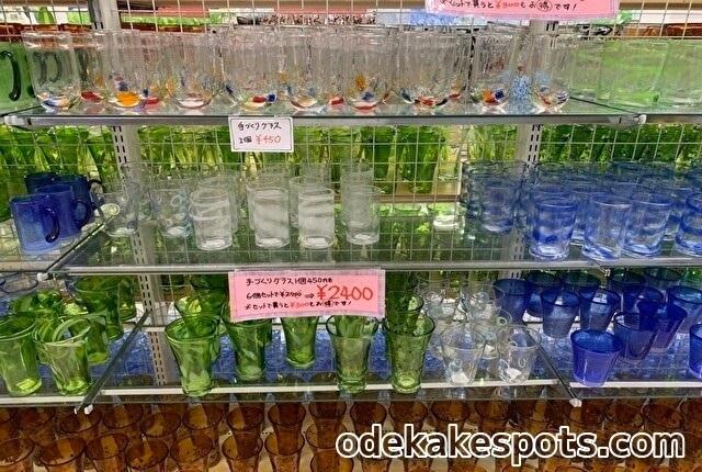 ワイドー市場 宮古島 琉球グラス