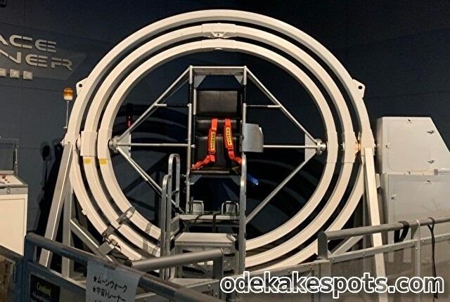 佐賀 宇宙科学館 ゆめぎんが スペーストレーナー 宇宙トレーナー