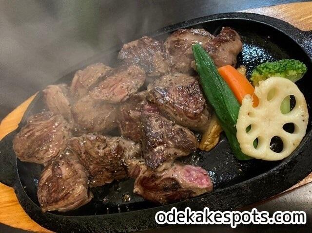 肉が一番 高砂店 メニュー ステーキ